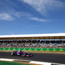 NORTHAMPTON, ENGLAND - JULY 06: Brendon Hartley of New Zealand driving the (28) Scuderia Toro Rosso STR13 Honda on track during practice for the Formula One Grand Prix of Great Britain at Silverstone on July 6, 2018 in Northampton, England.  (Photo by Charles Coates/Getty Images) // Getty Images / Red Bull Content Pool  // AP-1W6QDXNC91W11 // Usage for editorial use only // Please go to www.redbullcontentpool.com for further information. //