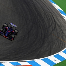 HOCKENHEIM, GERMANY - JULY 20: Brendon Hartley of New Zealand driving the (28) Scuderia Toro Rosso STR13 Honda on track during practice for the Formula One Grand Prix of Germany at Hockenheimring on July 20, 2018 in Hockenheim, Germany.  (Photo by Mark Thompson/Getty Images) // Getty Images / Red Bull Content Pool  // AP-1WB82CGSS2111 // Usage for editorial use only // Please go to www.redbullcontentpool.com for further information. //