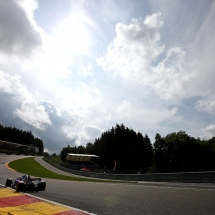 SPA, BELGIUM - AUGUST 24: Brendon Hartley of New Zealand driving the (28) Scuderia Toro Rosso STR13 Honda on track during practice for the Formula One Grand Prix of Belgium at Circuit de Spa-Francorchamps on August 24, 2018 in Spa, Belgium.  (Photo by Charles Coates/Getty Images) // Getty Images / Red Bull Content Pool  // AP-1WPG6CK312111 // Usage for editorial use only // Please go to www.redbullcontentpool.com for further information. //