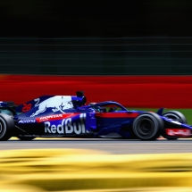 SPA, BELGIUM - AUGUST 24: Brendon Hartley of New Zealand driving the (28) Scuderia Toro Rosso STR13 Honda on track during practice for the Formula One Grand Prix of Belgium at Circuit de Spa-Francorchamps on August 24, 2018 in Spa, Belgium.  (Photo by Mark Thompson/Getty Images) // Getty Images / Red Bull Content Pool  // AP-1WPHS6SD51W11 // Usage for editorial use only // Please go to www.redbullcontentpool.com for further information. //