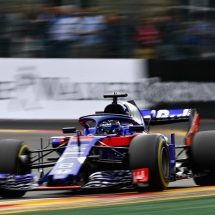 SPA, BELGIUM - AUGUST 26: Brendon Hartley of New Zealand driving the (28) Scuderia Toro Rosso STR13 Honda on track during the Formula One Grand Prix of Belgium at Circuit de Spa-Francorchamps on August 26, 2018 in Spa, Belgium.  (Photo by Mark Thompson/Getty Images) // Getty Images / Red Bull Content Pool  // AP-1WQ6GXXQ12111 // Usage for editorial use only // Please go to www.redbullcontentpool.com for further information. //