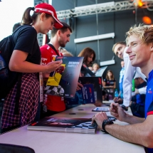 SOCHI, RUSSIA - SEPTEMBER 27:  Brendon Hartley of Scuderia Toro Rosso and New Zealand during previews ahead of the Formula One Grand Prix of Russia at Sochi Autodrom on September 27, 2018  (Photo by Peter Fox/Getty Images) // Getty Images / Red Bull Content Pool  // AP-1X1FHJ9J91W11 // Usage for editorial use only // Please go to www.redbullcontentpool.com for further information. //