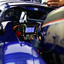 SOCHI, RUSSIA - SEPTEMBER 28:  Brendon Hartley of New Zealand and Scuderia Toro Rosso prepares to drive in the garage during practice for the Formula One Grand Prix of Russia at Sochi Autodrom on September 28, 2018 in Sochi, Russia.  (Photo by Peter Fox/Getty Images) // Getty Images / Red Bull Content Pool  // AP-1X1PFHKMD2111 // Usage for editorial use only // Please go to www.redbullcontentpool.com for further information. //