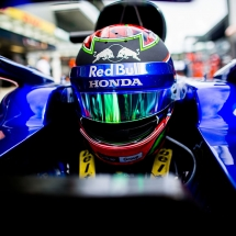 SOCHI, RUSSIA - SEPTEMBER 28:  Brendon Hartley of Scuderia Toro Rosso and New Zealand  during practice for the Formula One Grand Prix of Russia at Sochi Autodrom on September 28, 2018 in Sochi, Russia.  (Photo by Peter Fox/Getty Images) // Getty Images / Red Bull Content Pool  // AP-1X1QS6KPW2511 // Usage for editorial use only // Please go to www.redbullcontentpool.com for further information. //