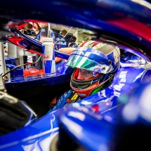 SOCHI, RUSSIA - SEPTEMBER 28:  Brendon Hartley of Scuderia Toro Rosso and New Zealand  during practice for the Formula One Grand Prix of Russia at Sochi Autodrom on September 28, 2018 in Sochi, Russia.  (Photo by Peter Fox/Getty Images) // Getty Images / Red Bull Content Pool  // AP-1X1QS7BQ92511 // Usage for editorial use only // Please go to www.redbullcontentpool.com for further information. //