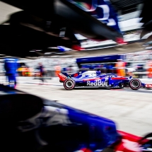 SOCHI, RUSSIA - SEPTEMBER 28:  Brendon Hartley of Scuderia Toro Rosso and New Zealand during practice for the Formula One Grand Prix of Russia at Sochi Autodrom on September 28, 2018 in Sochi, Russia.  (Photo by Peter Fox/Getty Images) // Getty Images / Red Bull Content Pool  // AP-1X1SYQC5D2511 // Usage for editorial use only // Please go to www.redbullcontentpool.com for further information. //