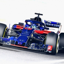 SUZUKA, JAPAN - OCTOBER 05: Brendon Hartley of New Zealand driving the (28) Scuderia Toro Rosso STR13 Honda on track during practice for the Formula One Grand Prix of Japan at Suzuka Circuit on October 5, 2018 in Suzuka.  (Photo by Clive Mason/Getty Images) // Getty Images / Red Bull Content Pool  // AP-1X3UP6K391W11 // Usage for editorial use only // Please go to www.redbullcontentpool.com for further information. //