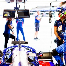 SUZUKA, JAPAN - OCTOBER 06:  Brendon Hartley of Scuderia Toro Rosso and New Zealand during qualifying for the Formula One Grand Prix of Japan at Suzuka Circuit on October 6, 2018 in Suzuka.  (Photo by Peter Fox/Getty Images) // Getty Images / Red Bull Content Pool  // AP-1X4G3G8TD2111 // Usage for editorial use only // Please go to www.redbullcontentpool.com for further information. //