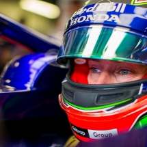 BAKU, AZERBAIJAN - APRIL 27:  Brendon Hartley of Scuderia Toro Rosso and New Zealand during practice for the Azerbaijan Formula One Grand Prix at Baku City Circuit on April 27, 2018 in Baku, Azerbaijan.  (Photo by Peter Fox/Getty Images) // Getty Images / Red Bull Content Pool  // AP-1VG5TU7BN2111 // Usage for editorial use only // Please go to www.redbullcontentpool.com for further information. //