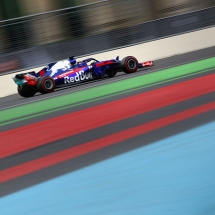 BAKU, AZERBAIJAN - APRIL 29: Brendon Hartley of New Zealand driving the (28) Scuderia Toro Rosso STR13 Honda on track during the Azerbaijan Formula One Grand Prix at Baku City Circuit on April 29, 2018 in Baku, Azerbaijan.  (Photo by Clive Mason/Getty Images) // Getty Images / Red Bull Content Pool  // AP-1VGVBTZG51W11 // Usage for editorial use only // Please go to www.redbullcontentpool.com for further information. //
