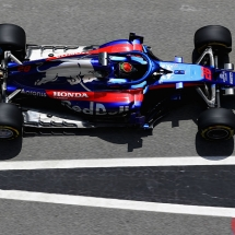 MONTMELO, SPAIN - MAY 11: Brendon Hartley of New Zealand driving the (28) Scuderia Toro Rosso STR13 Honda in the Pitlane during practice for the Spanish Formula One Grand Prix at Circuit de Catalunya on May 11, 2018 in Montmelo, Spain.  (Photo by Mark Thompson/Getty Images) // Getty Images / Red Bull Content Pool  // AP-1VMP1GT111W11 // Usage for editorial use only // Please go to www.redbullcontentpool.com for further information. //
