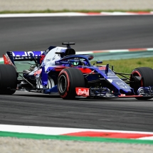 MONTMELO, SPAIN - MAY 12: Brendon Hartley of New Zealand driving the (28) Scuderia Toro Rosso STR13 Honda on track during final practice for the Spanish Formula One Grand Prix at Circuit de Catalunya on May 12, 2018 in Montmelo, Spain.  (Photo by David Ramos/Getty Images) // Getty Images / Red Bull Content Pool  // AP-1VMYY73M11W11 // Usage for editorial use only // Please go to www.redbullcontentpool.com for further information. //