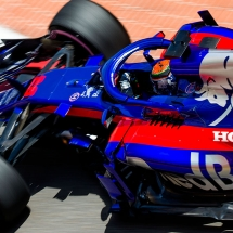 MONTE-CARLO, MONACO - MAY 26:  26:  26:  26:  Brendon Hartley of Scuderia Toro Rosso and New Zealand during qualifying for the Monaco Formula One Grand Prix at Circuit de Monaco on May 26, 2018 in Monte-Carlo, Monaco.  (Photo by Peter Fox/Getty Images) // Getty Images / Red Bull Content Pool  // AP-1VSJ97Q7W1W11 // Usage for editorial use only // Please go to www.redbullcontentpool.com for further information. //