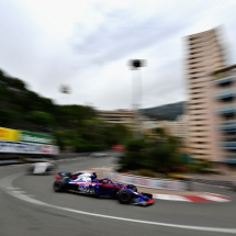 MONTE-CARLO, MONACO - MAY 27:  Brendon Hartley of New Zealand driving the (28) Scuderia Toro Rosso STR13 Honda on track during the Monaco Formula One Grand Prix at Circuit de Monaco on May 27, 2018 in Monte-Carlo, Monaco.  (Photo by Dan Mullan/Getty Images) // Getty Images / Red Bull Content Pool  // AP-1VSV1GQ9H1W11 // Usage for editorial use only // Please go to www.redbullcontentpool.com for further information. //
