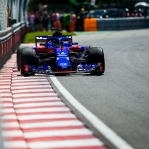 MONTREAL, QC - JUNE 08: Brendon Hartley of Scuderia Toro Rosso and New Zealand  during practice for the Canadian Formula One Grand Prix at Circuit Gilles Villeneuve on June 8, 2018 in Montreal, Canada.  (Photo by Peter Fox/Getty Images) // Getty Images / Red Bull Content Pool  // AP-1VX1E6FEW2111 // Usage for editorial use only // Please go to www.redbullcontentpool.com for further information. //