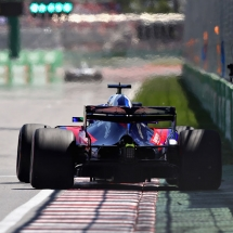 MONTREAL, QC - JUNE 09: Brendon Hartley of New Zealand driving the (28) Scuderia Toro Rosso STR13 Honda on track during qualifying for the Canadian Formula One Grand Prix at Circuit Gilles Villeneuve on June 9, 2018 in Montreal, Canada.  (Photo by Mark Thompson/Getty Images) // Getty Images / Red Bull Content Pool  // AP-1VX48TSFS2111 // Usage for editorial use only // Please go to www.redbullcontentpool.com for further information. //