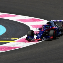 LE CASTELLET, FRANCE - JUNE 22: Brendon Hartley of New Zealand driving the (28) Scuderia Toro Rosso STR13 Honda on track during practice for the Formula One Grand Prix of France at Circuit Paul Ricard on June 22, 2018 in Le Castellet, France.  (Photo by Mark Thompson/Getty Images) // Getty Images / Red Bull Content Pool  // AP-1W27BDDGD1W11 // Usage for editorial use only // Please go to www.redbullcontentpool.com for further information. //