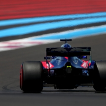 LE CASTELLET, FRANCE - JUNE 22: Brendon Hartley of New Zealand driving the (28) Scuderia Toro Rosso STR13 Honda on track during practice for the Formula One Grand Prix of France at Circuit Paul Ricard on June 22, 2018 in Le Castellet, France.  (Photo by Dan Istitene/Getty Images) // Getty Images / Red Bull Content Pool  // AP-1W29F1QSW1W11 // Usage for editorial use only // Please go to www.redbullcontentpool.com for further information. //
