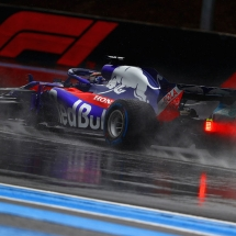LE CASTELLET, FRANCE - JUNE 23: Brendon Hartley of New Zealand driving the (28) Scuderia Toro Rosso STR13 Honda on track during final practice for the Formula One Grand Prix of France at Circuit Paul Ricard on June 23, 2018 in Le Castellet, France.  (Photo by Dan Istitene/Getty Images) // Getty Images / Red Bull Content Pool  // AP-1W2H32DRS2111 // Usage for editorial use only // Please go to www.redbullcontentpool.com for further information. //