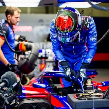 SPIELBERG, AUSTRIA - JUNE 29:  Brendon Hartley of Scuderia Toro Rosso and New Zealand during practice for the Formula One Grand Prix of Austria at Red Bull Ring on June 29, 2018 in Spielberg, Austria.  (Photo by Peter Fox/Getty Images) // Getty Images / Red Bull Content Pool  // AP-1W4EW44CH1W11 // Usage for editorial use only // Please go to www.redbullcontentpool.com for further information. //