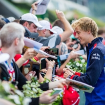 SPIELBERG, AUSTRIA - JUNE 30:  Brendon Hartley of Scuderia Toro Rosso and New Zealand  during qualifying for the Formula One Grand Prix of Austria at Red Bull Ring on June 30, 2018 in Spielberg, Austria.  (Photo by Peter Fox/Getty Images) // Getty Images / Red Bull Content Pool  // AP-1W4QN83AN1W11 // Usage for editorial use only // Please go to www.redbullcontentpool.com for further information. //