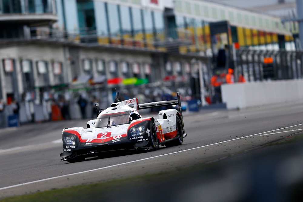 front row start for the 2 porsche 919 hybrid at the 6 hours of n rburgring brendon hartley. Black Bedroom Furniture Sets. Home Design Ideas